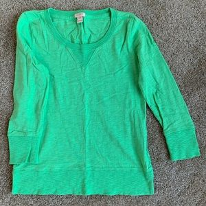 J. Crew 3/4 sleeve long sleeve